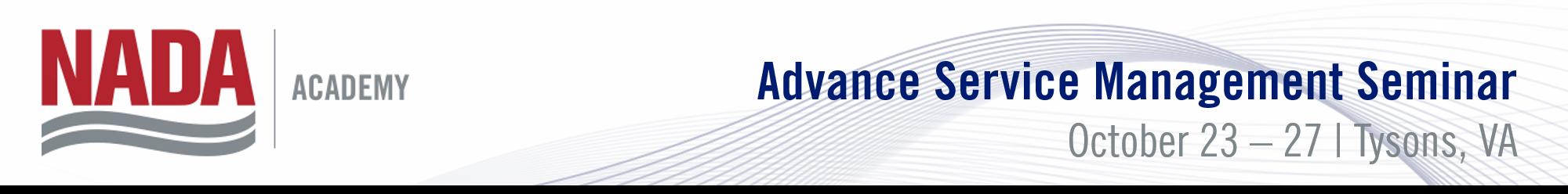 Advanced Service Management Seminar 553fd3702